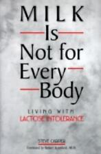 Milk Is Not for Every Body: Living With Lactose Intolerance