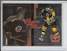 99-00 Upper Deck Century Legends Bobby Orr/Ray Bourque Essence Of The Game # E2