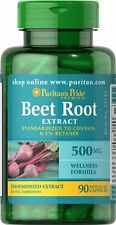 Beet Root Extract 500mg x 90 Rapid Release Capsules ** AMAZING PRICE **
