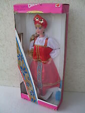 barbie russian russia russa dolls of the world poupèe muneca dol 1996 dotw 16500