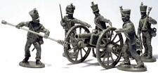FRENCH NAPOLEONIC FOOT ARTILLERY XI SYSTEM - 6 PDR GUNS - VICTRIX SENT 1ST CLASS