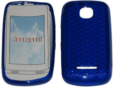 For Nokia Asha 311 / 3110 Pattern Soft Gel Case Cover Protector Pouch Blue New
