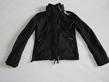 SUPERDRY THE WINDCHEATER BLACK WHITE JACKET  WOMENS SMALL