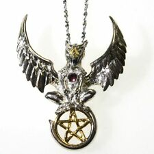 Griffin of Nemesis Sterling Silver 925 Pendant Necklace Anne Stokes Mythical Com