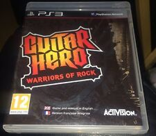 Guitar Hero Warriors Of Rock ps3 sony playstation 3