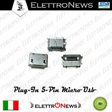 Connettore ricarica 5 pin Plug-in micro usb Htc - Nokia - NGM - Asus  n°1