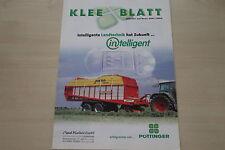 159204) Pöttinger Kleeblatt Prospekt 2001