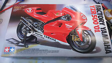 Tamiya 1/12 scale Factory Yamaha YZR500 '01 ***ONLY ONE ON EBAY***RARE & OOP**