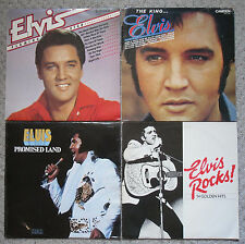 ELVIS 4 LP SET - Flaming Star - The King - Promised Land - Elvis Rocks 14 Golden