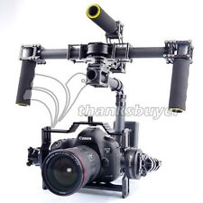 3 Axis DSLR Carbon Fiber Handheld Gimbal with Motors and Controller for FPV