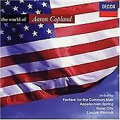 Aaron Copland : The World of Copland CD (2002)