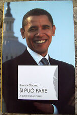 2008 BARACK OBAMA 'SI PUO' FARE'