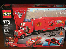 LEGO Disney Cars 2  MACK'S TEAM TRUCK # 8486  374 pcs NEW & SEALED retired