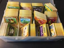 100 MINT Card Lot JAPANESE Pokemon Com Unc Gym Rocket Fossil Neo Discovery DUPS