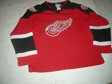 Detroit Red Wings #7 Youth sz8 SEWN Jersey,REAL QUALITY,CUSTOMIZE NAME for $20