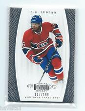 2011/12 Panini Dominion Hockey PK Subban  #117/199