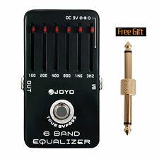 Joyo JF-11 6 BAND EQ graphic equalizer True Bypass guitar effects pedal