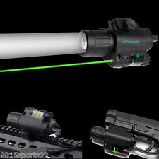 Tactical Combo Cree Flashlight Green Laser Sight rail 20mm fit for Pistol/Glock