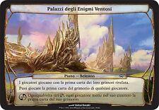 PLANECHASE PLANE PIANO Palazzi degli Enigmi Ventosi - Windriddle Palaces MAGIC I