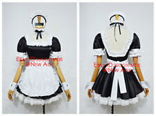 Fate/hollow ataraxia Saber Alter Maid Version Cosplay Costume Outfit Dress Apron