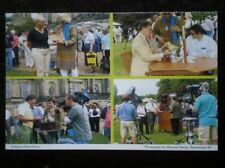 POSTCARD B40-7 DERBYSHIRE FILMING OF THE ANTIQUES ROAD SHOW