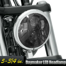"5-3/4"" LED Headlight Daymaker Projector Fit Harley Dyna Glide Fat Bob Street Bob"