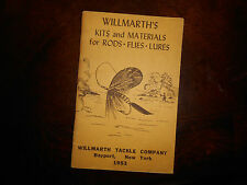 Vintage 1953 WILLMARTHS TACKLE COMPANY KITS and MATERIALS for RODS FLIES LURES