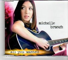 (FM660) Michelle Branch, All You Wanted - 2001 DJ CD