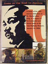 Poems On The Road To Justice (DVD, 2006) Celebrating Martin Luther King's Legacy