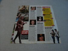 I235 MICHAEL JACKSON KATIE HOLMES BEYONCE AMY WINEHOUSE '2007 FRENCH CLIPPING