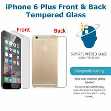 Front + Back Ultra Hard Tempered Glass Screen Protector Saver For iPhone 6S Plus