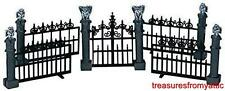 Lemax Spooky Town GARGOYLE FENCE #44139 NRFP Halloween Village Accessory