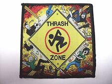d.r.i. thrash zone    WOVEN  PATCH