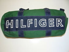 Tommy Hilfiger Navy/Green Unisex Large Duffle Bag/Hand Bag/Gym Bag SALE