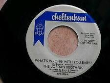 JORDAN BROTHERS~WHAT'S WRONG WITH YOU BABY~THE JORDAN THEME~~INST.~MOD~ LATIN 45