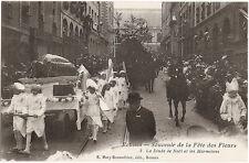 RENNES (35) - Souvenir de la Fête des Fleurs 1907-La Dinde de Noël et Marmitons