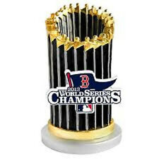 Red Sox 2013 World Series Champions Replica Trophy Paper Weight New in Box