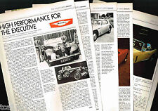 Old JENSEN Cars/Auto Article / Photos / Pictures: INTERCEPTOR, Healey