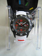 ICE-WATCH ICE-CARBON BIG CA.3H.WE.B.S.15 BLACK WHITE GENUINE