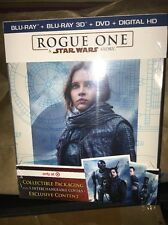 Rogue One: A Star Wars Story TARGET Exclusive Bonus Disc 3D Blu-ray DVD NEW Rare