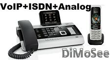 "►► Gigaset DX800A VoIP - ISDN - Analog ""All in one"" + 1 Mobilteil C430H ◄◄"