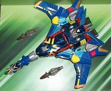 TRANSFORMERS BEAST MACHINES SERIES LARGE JETSTORM JET FIGHTER   FIGURE