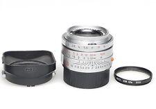 Leica Summicron-M 35mm 1:2 ASPH. E39 Silver