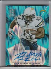 2015 PANINI SPECTRA #S-BOL BRANDEN OLIVER AUTOGRAPH NEON BLUE CHARGERS 16/50
