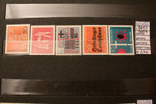 STAMPS GERMANIA GERMANY MNH ** 261/63+268/9 (A40977)