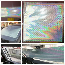 Silver Retractable Car Windscreen Sun Shade Heat Insulation Curtain For Holden