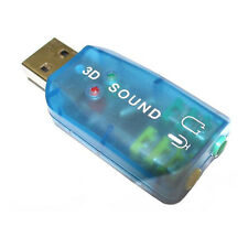 DYNAMODE EXTERNAL STEREO 2.0 USB SOUNDCARD FOR PC / LAPTOP - (USB-SOUNDCARD2.0)