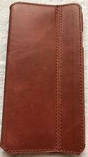 KAVAJ iPhone 6S/6 Case Leather Dallas Cognac Brown Genuine Leather Cover