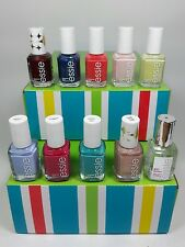 LOT of 10 Essie Nail Polish Color Lacquer - All different colors - No repeats