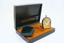 Vintage  High quality Jaeger Le Coultre Memovox alarm ,with bag and box